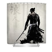 Ronin Shower Curtain