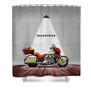 The Roadmaster Shower Curtain
