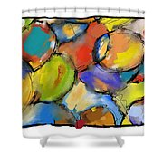 Cells 1 Shower Curtain