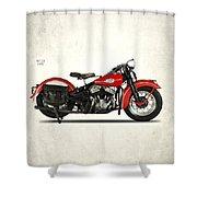 Harley-davidson Wld 1941 Shower Curtain