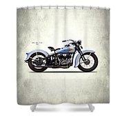 Harley Model Vd 1935 Shower Curtain