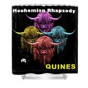 Moohemian Rhapsody Shower Curtain