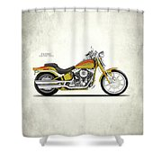 Harley Fxstsse Screamin Eagle Shower Curtain