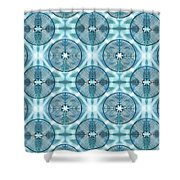 11 Chartres - Beyond Sky Shower Curtain