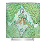 Gossamer Garden Shower Curtain