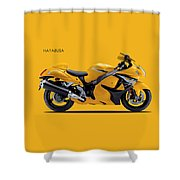 Hayabusa In Yellow Shower Curtain