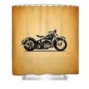 Harley Davidson Ulh 1941 Shower Curtain