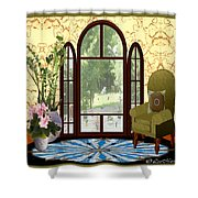 Country Friends Shower Curtain