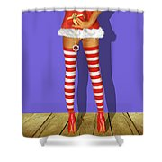 For You My Darling Shower Curtain