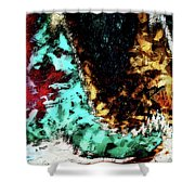 Dog Tails Shower Curtain
