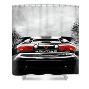 See You Later - Pontiac Trans Am Shower Curtain
