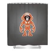 Monkey Crisis On Mars Shower Curtain