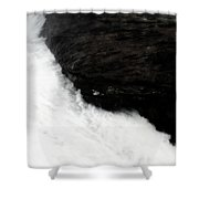 Carved In Stone Shower Curtain