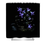 Bluebells Shower Curtain by Alexey Kljatov