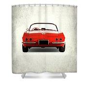 The 62 Corvette Shower Curtain