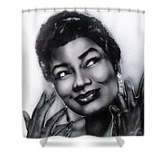 Pearl Bailey Shower Curtain