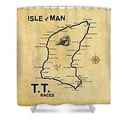 Isle Of Man Tt Shower Curtain