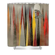 Soaring Swallow Shower Curtain