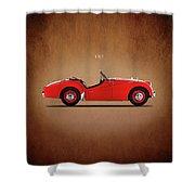 Triumph Tr3a 1959 Shower Curtain