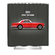 Ferrari 250 Gt 1959 Shower Curtain