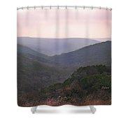 Rolling Hill Country Shower Curtain by Felipe Adan Lerma