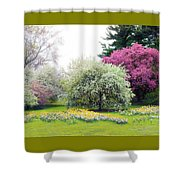 Muted Meadow Shower Curtain