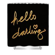 Darling Bella I Shower Curtain