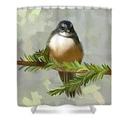 Fantail  Shower Curtain