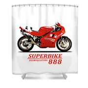 Ducati 888 Shower Curtain