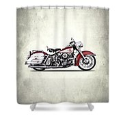Harley Model Fl 1960 Shower Curtain