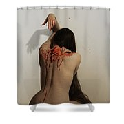 Bloodletting Shower Curtain