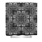 Great Gray Owl Stare Down Shower Curtain