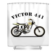 The Bsa 441 Victor Shower Curtain