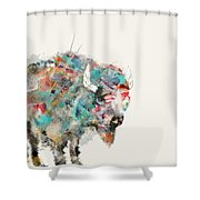 The Buffalo Shower Curtain
