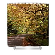 Mountain Road Stowe Vt Shower Curtain