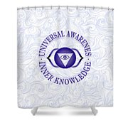 Third Eye Chakra Shower Curtain