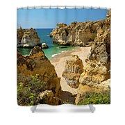 Albufeira Cove Shower Curtain