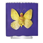 Fiona Butterfly Shower Curtain