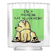 Cairn Terrier Sunshine Shower Curtain