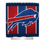 Bills Football Club Shower Curtain