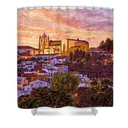 Silves Dusk Shower Curtain