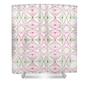 Calico Puzzle Shower Curtain