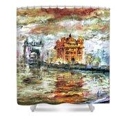 Amritsar Palace Shower Curtain
