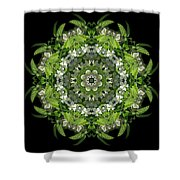 Inspired Action Shower Curtain