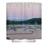 Sunrise Over Mallets Bay Variations - Two Shower Curtain