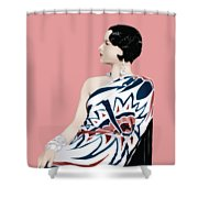 Louise Brooks In Hollywood Shower Curtain