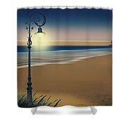 Beach And Coastal Lighting Shower Curtain