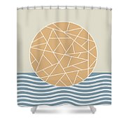 Maybe The Sea Shower Curtain