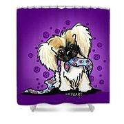 Pekingese Puppy Shower Curtain