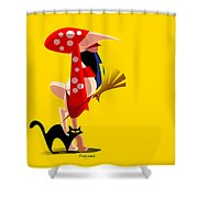 Gipsy Shower Curtain